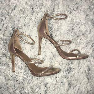 Daisy Fuentes Rose Gold Heels